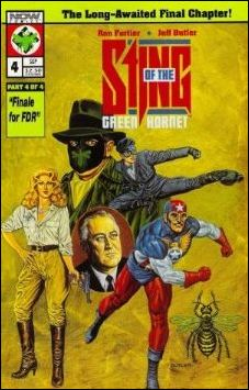 Sting of the Green Hornet 4-A by Now Comics