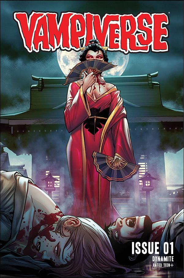 Vampiverse 1-B by Dynamite Entertainment