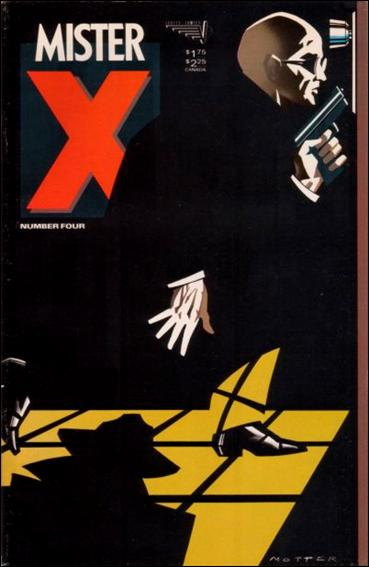 Mister X (1984) 4-A by Vortex Comics
