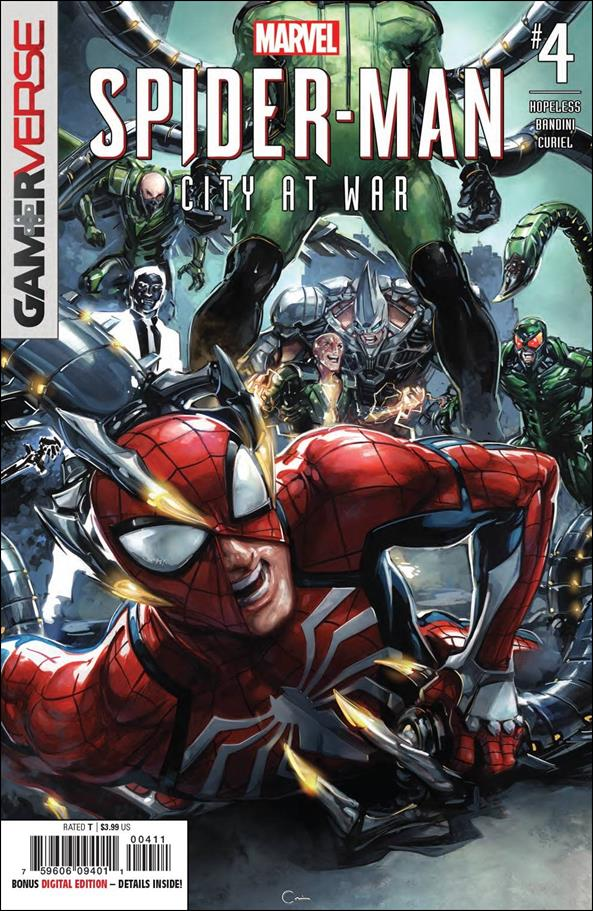 Spider-Man: City at War 4-A by Marvel