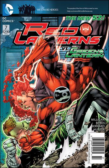 Red Lanterns 7-A by DC