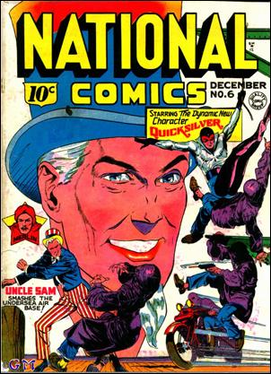 National Comics (1940) 6-A by Quality