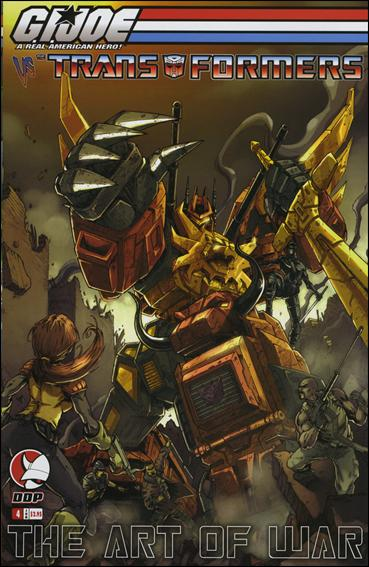G.I. Joe vs the Transformers: The Art of War 4-B by Devil's Due