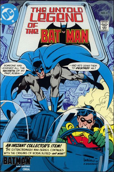 Untold Legend of the Batman 2-D by DC