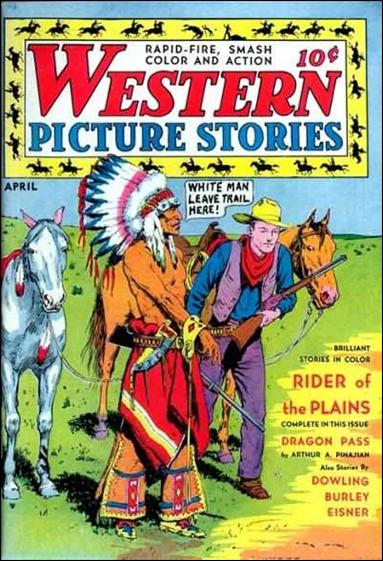 Western Picture Stories 3-A by Comics Magazine