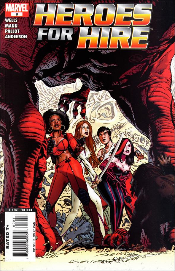 Heroes for Hire (2006) 9-A by Marvel