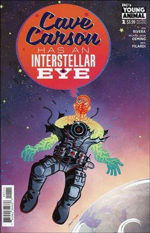 Cave Carson Has an Interstellar Eye 1-A
