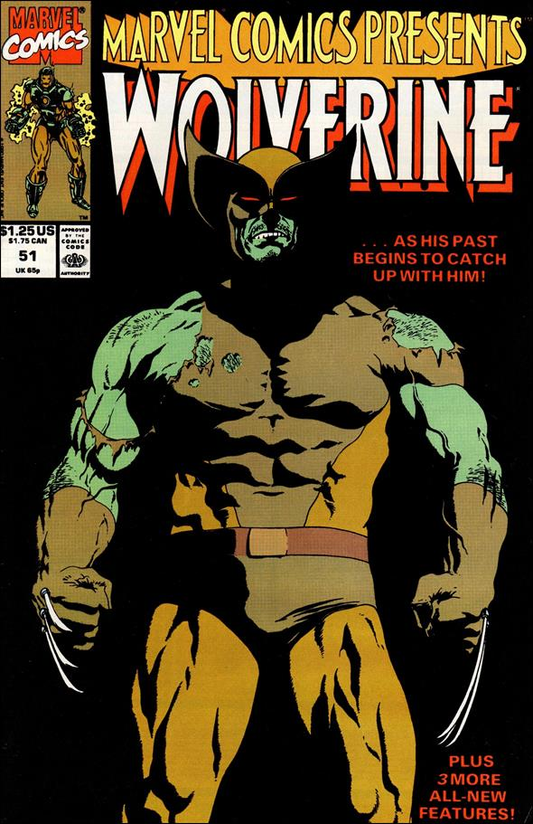 Marvel Comics Presents (1988) 51-A by Marvel