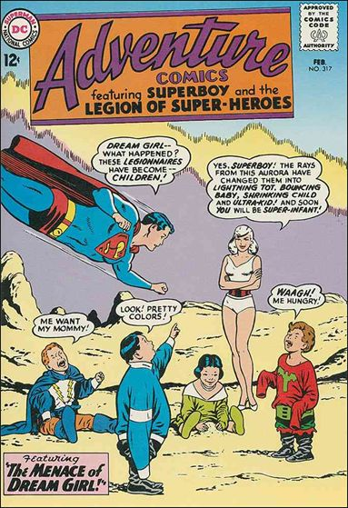 Adventure Comics (1938) 317-A by DC