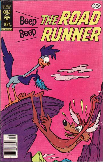Beep Beep Road Runner 73-A by Gold Key