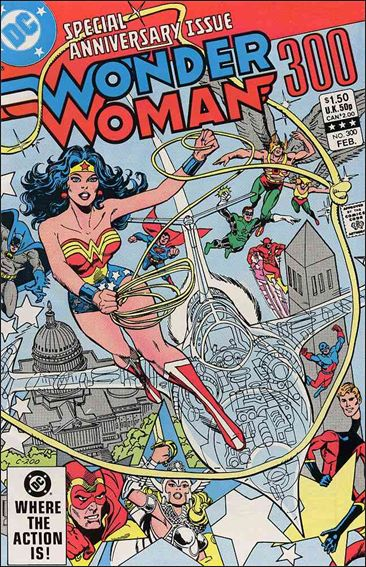 Wonder Woman (1942) 300-A by DC
