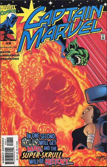 Captain Marvel (1999) 8-A by Marvel