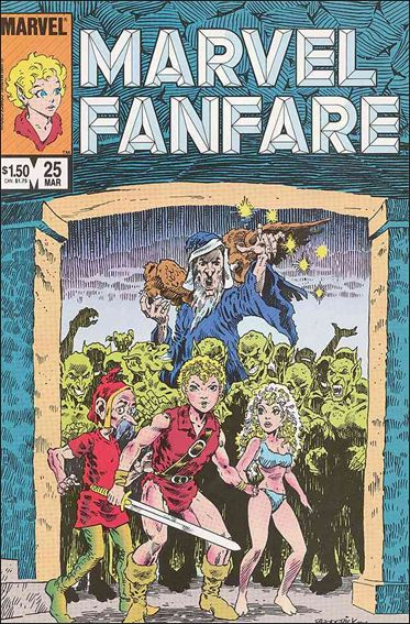 Marvel Fanfare (1982) 25-A by Marvel