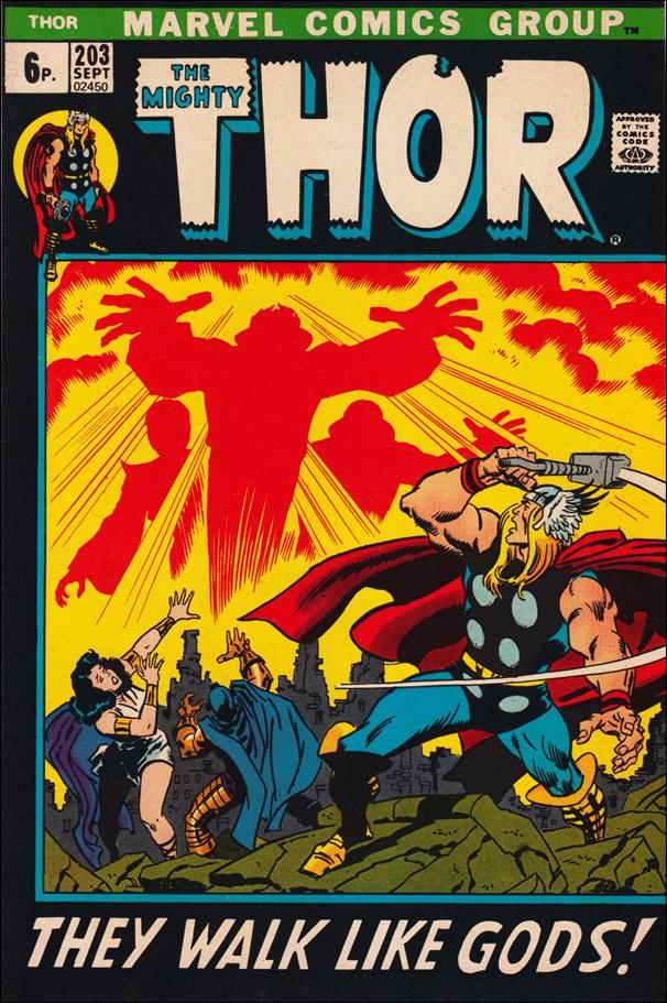 Thor (1966) 203-B by Marvel