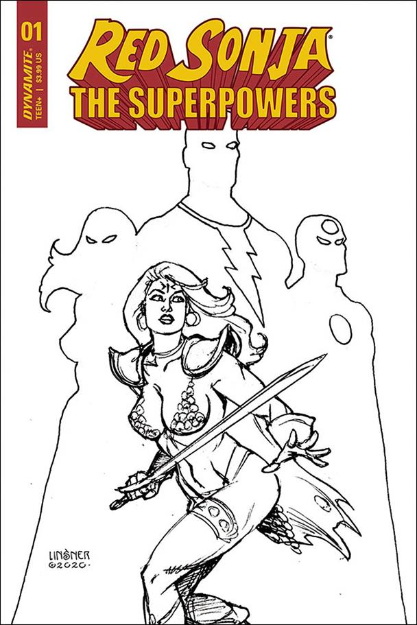 Red Sonja: The Superpowers 1-R by Dynamite Entertainment
