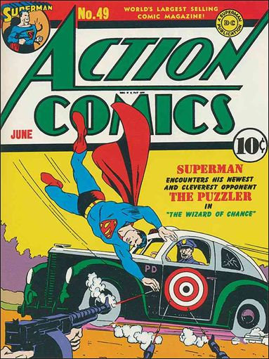 Action Comics (1938) 49-A by DC