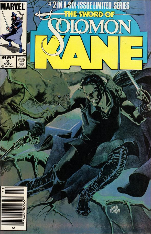 Solomon Kane (1985) 2-A by Marvel