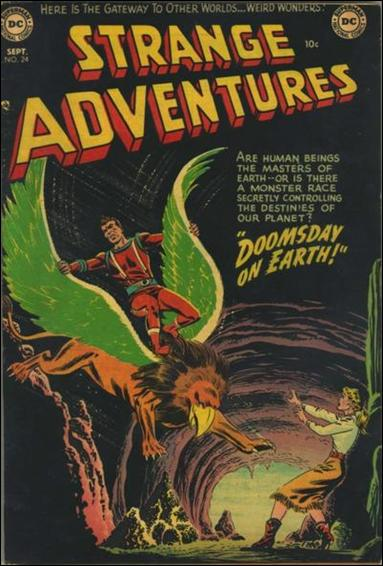 Strange Adventures (1950) 24-A by DC