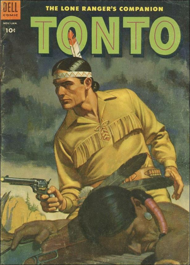 Lone Ranger's Companion Tonto 13-A by Dell