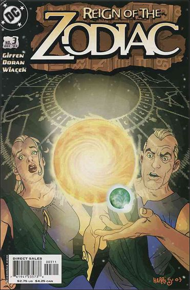 Reign of the Zodiac 3-A by DC