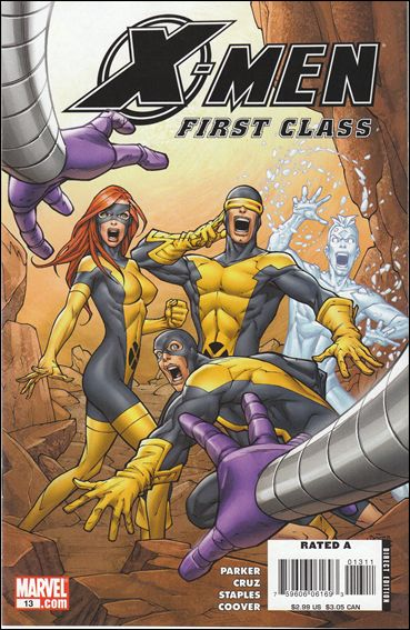 X-Men: First Class (2007) 13-A by Marvel