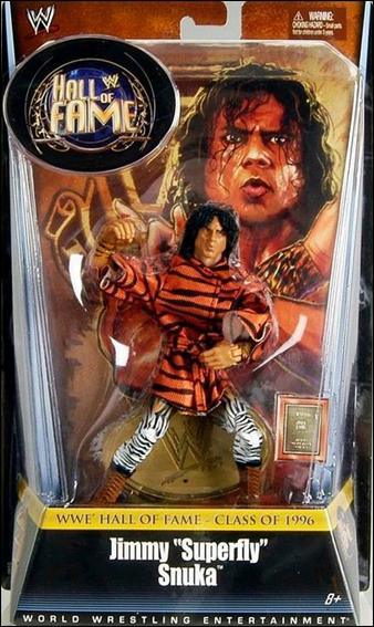"""WWE: Hall of Fame (Series 1) Jimmy """"Superfly"""" Snuka by Mattel"""