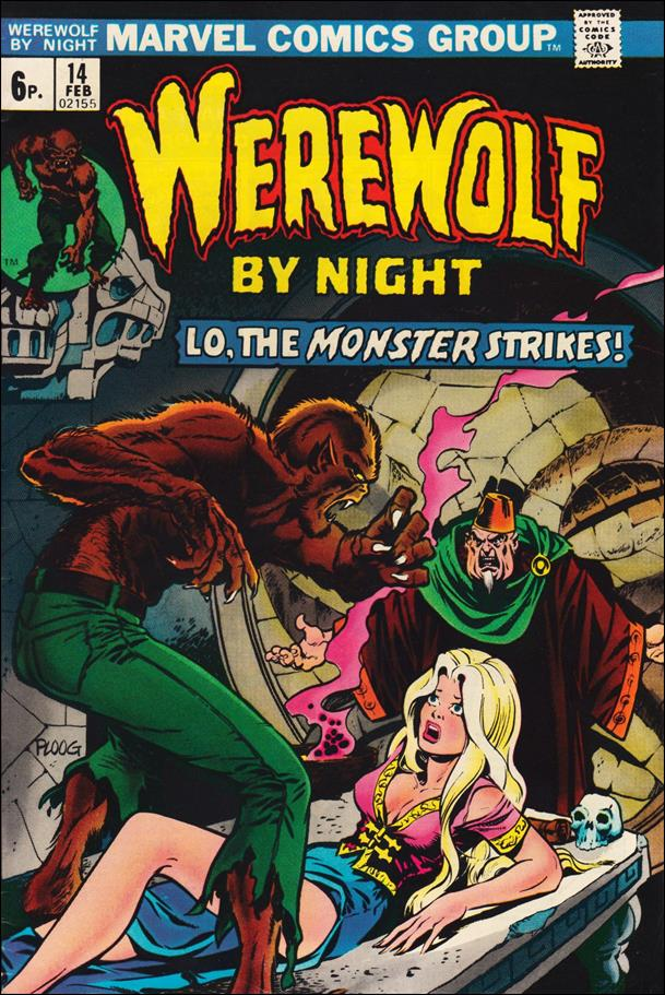 Werewolf by Night (1972) 14-B by Marvel