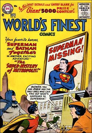 World's Finest Comics 84-A by DC