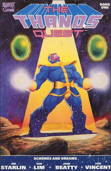 Thanos Quest (1990) 1-A by Marvel