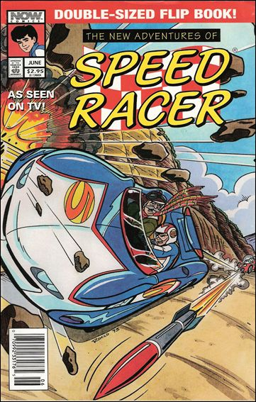 New Adventures of Speed Racer 1-A by Now Comics