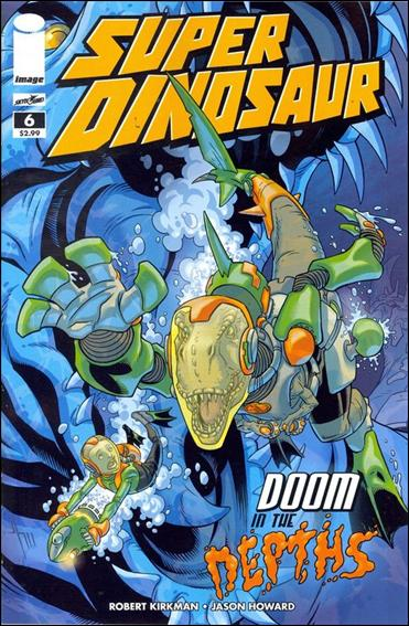 Super Dinosaur 6-A by Skybound Entertainment