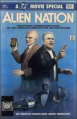 Alien Nation 1-A by DC