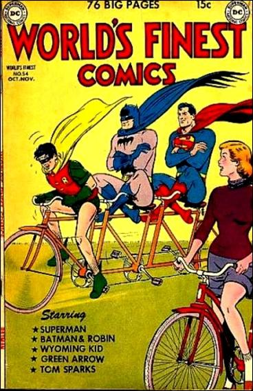 World's Finest Comics 54-A by DC