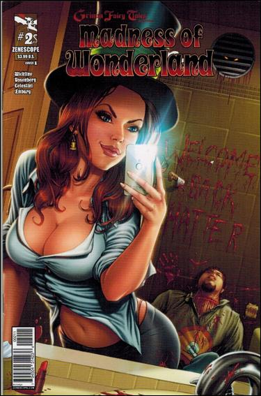 Grimm Fairy Tales Presents Madness of Wonderland 2-A by Zenescope Entertainment