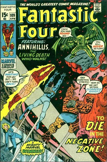 Fantastic Four (1961) 109-A by Marvel