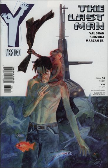 Y: The Last Man 34-A by Vertigo