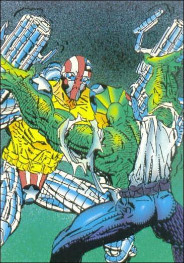 Savage Dragon (Base Set) 82-A by Comic Images