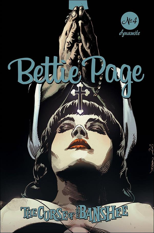 Bettie Page: The Curse of the Banshee 4-C by Dynamite Entertainment