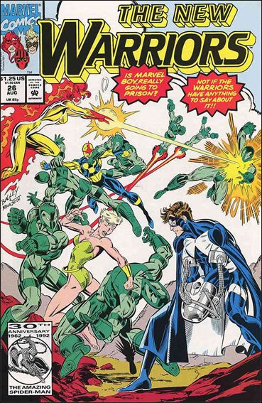 New Warriors (1990) 26-A by Marvel