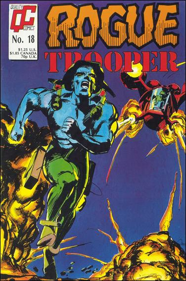 Rogue Trooper (1986) 18-A by Quality Comics