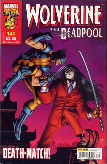 Wolverine and Deadpool (UK) 141-A by Panini