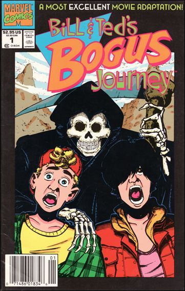 Bill & Ted's Bogus Journey 1-A by Marvel