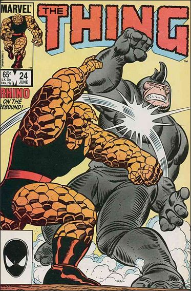 Thing (1983) 24-A by Marvel