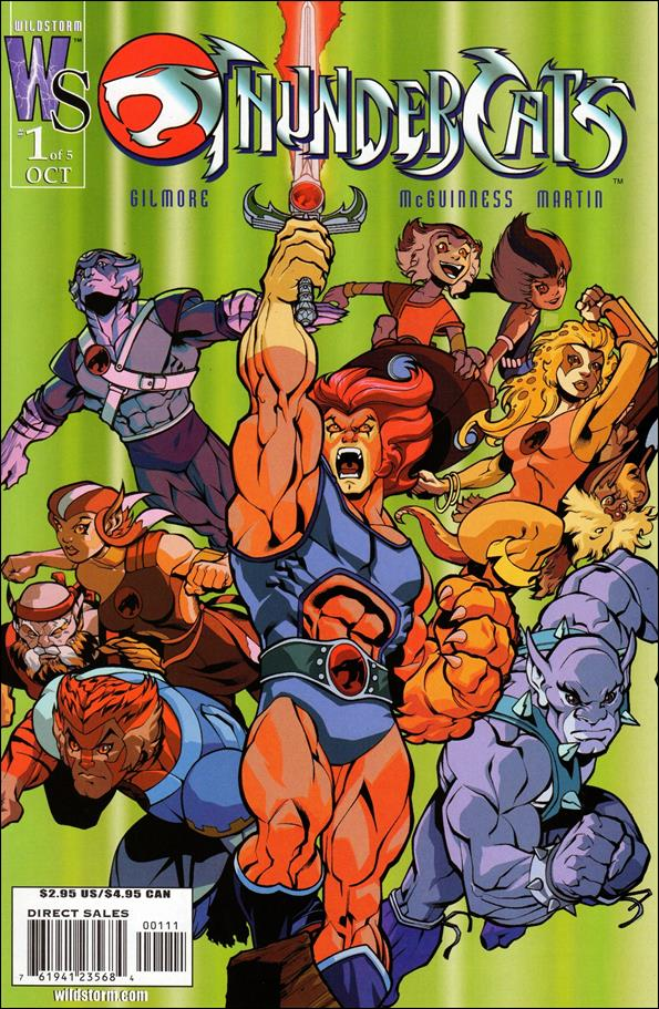ThunderCats (2002) 1-B by WildStorm