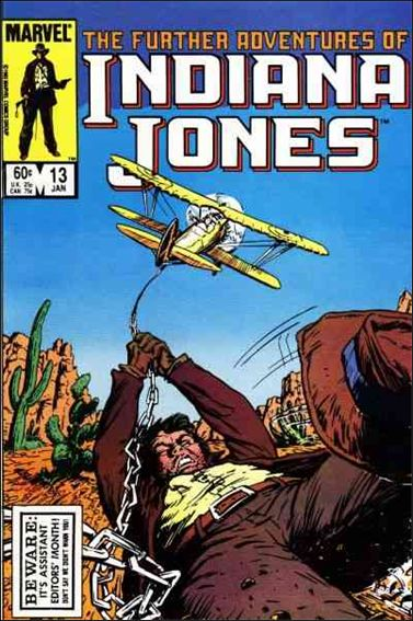 Further Adventures of Indiana Jones 13-A by Marvel