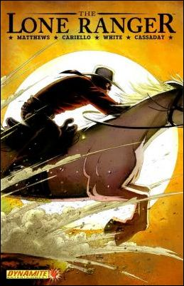 Lone Ranger (2006) 4-A by Dynamite Entertainment