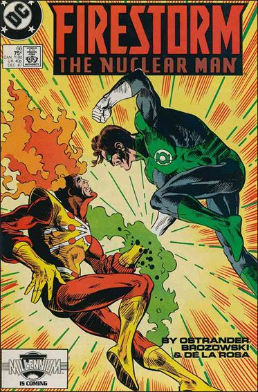 Firestorm The Nuclear Man (1987) 66-A by DC