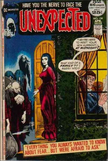 Unexpected (1968) 134-A by DC