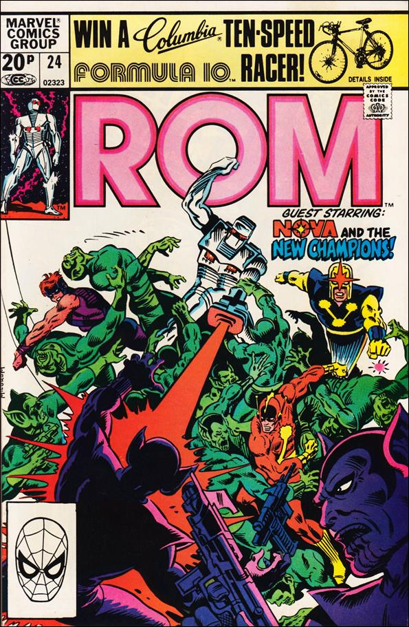 ROM (1979) 24-B by Marvel