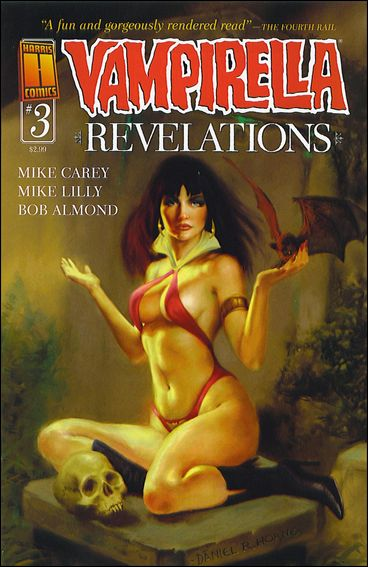Vampirella Revelations 3-B by Harris